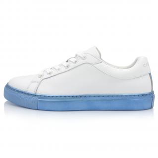 Sneakers Bleu Métallique Alpha 1