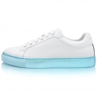 Sneakers Turquoise Métallique Alpha 1
