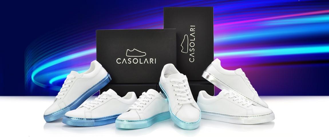 Sneakers Métalliques CASOLARI